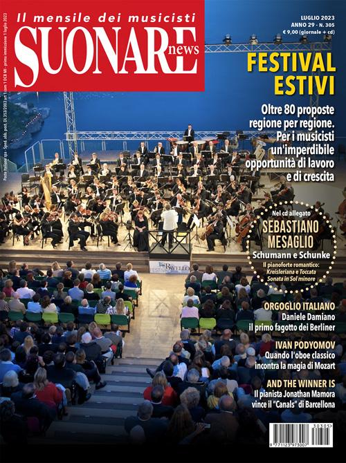 Suonare News: la copertina del numero di gennaio 2010